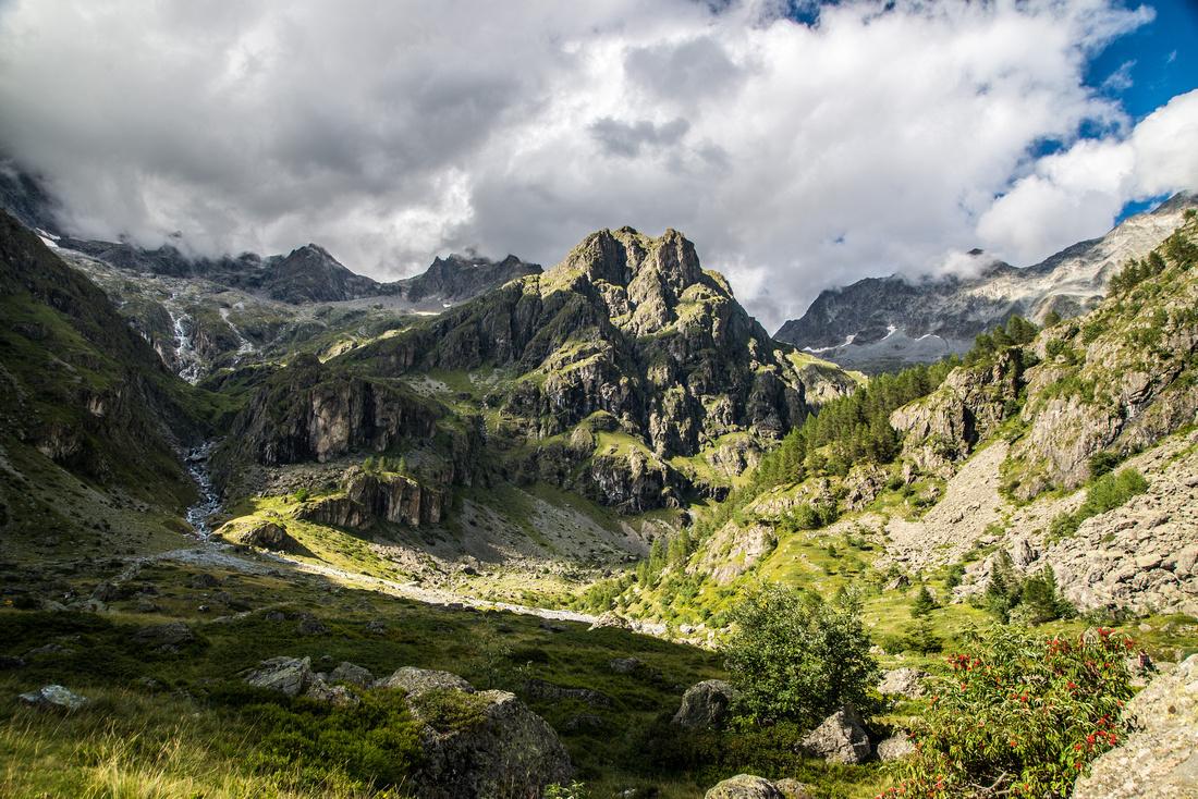 Vallée du Valgaudemar - cirque du Gioberney