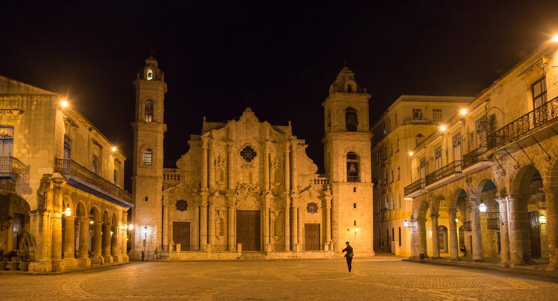 Cuba – Plaza de la Catedral – Havana • La Havane • La Habana – 2018
