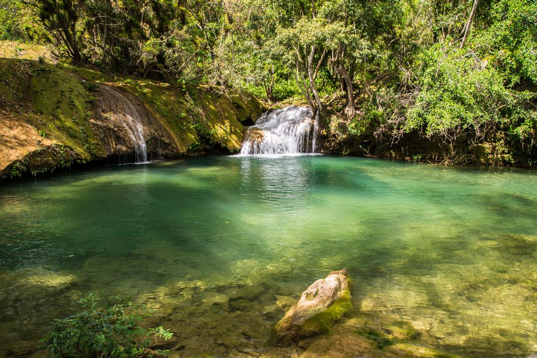 Cuba - Escambray mountains - Guayanara range